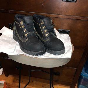 Timberland Men's Waterproof Navy Boots